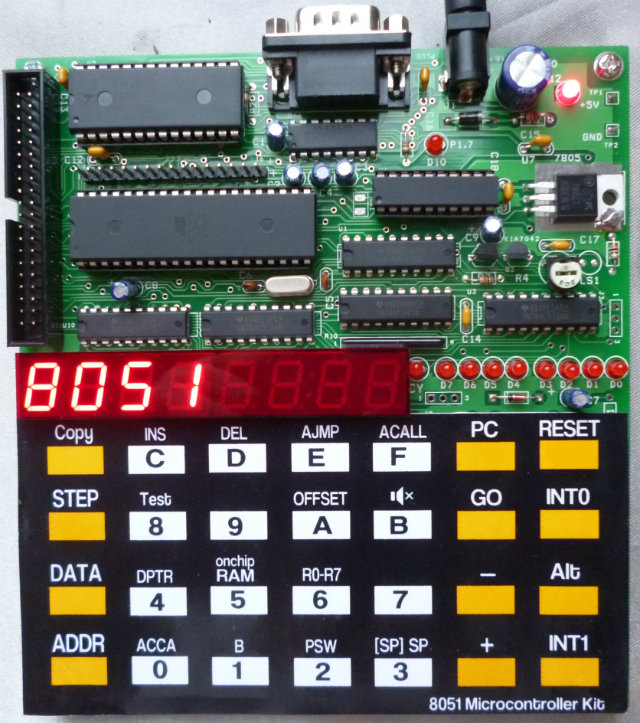 Build your own 8051 Microcontroller Kit