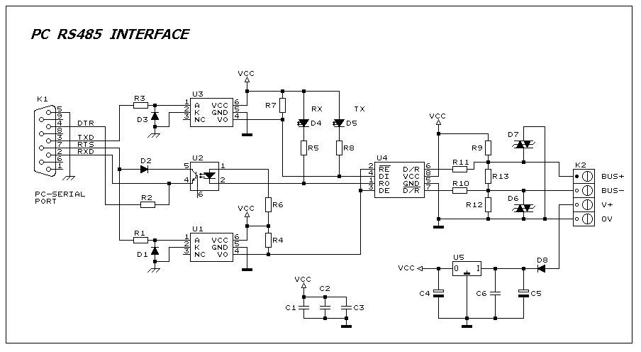 Rs485 Circuit Diagram Good Guide Of Wiring Diagram