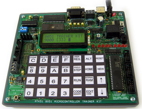 Build A Single Board Computer With 8051 Compatible Microcontroller ATMEL 89S52