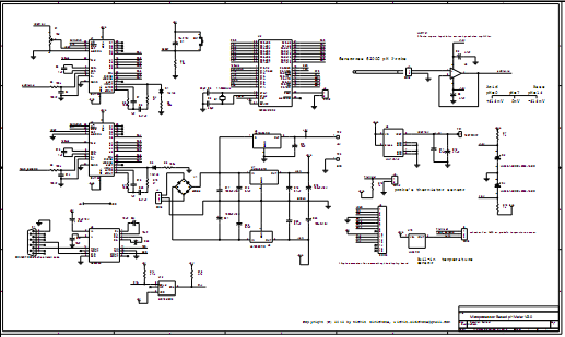 Figure 3: Hardware schematic of the main board(click to enlarge).